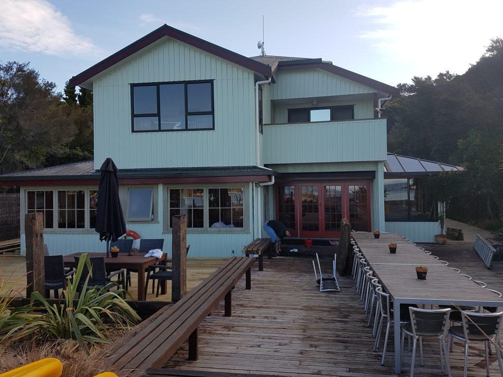 Painting two-storey homes in Nelson - Lambert decorators