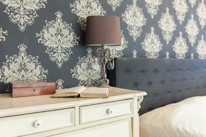 patterned wallpaper in bedrooms in Nelson by Gavin Lambert