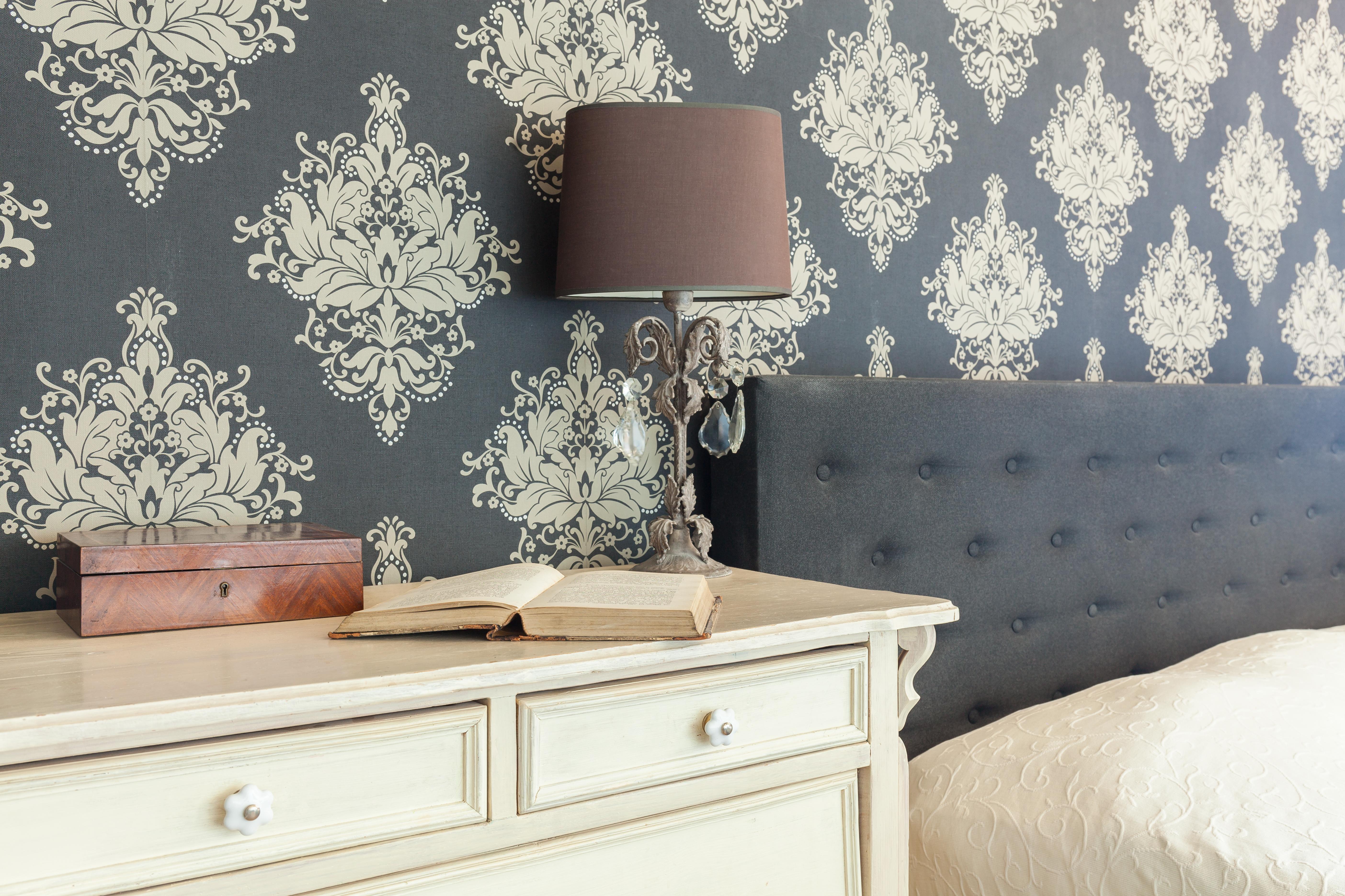 patterned wallpaper in bedrooms in Nelson by Gavin Lambert